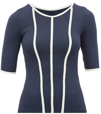 Ernest Leoty - Constance Performance Top - Womens - Navy White