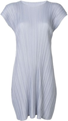 Pleats Please Issey Miyake Mellow Pleats dress