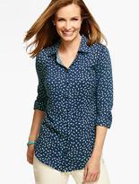 Talbots Long Drapey Shirt - Petite Plumes
