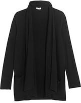 Splendid Sylvie Ribbed-knit Cardigan - Black