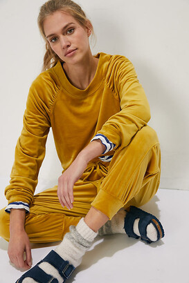 Merida Velvet Sweatshirt By Saturday/Sunday in Purple Size XS