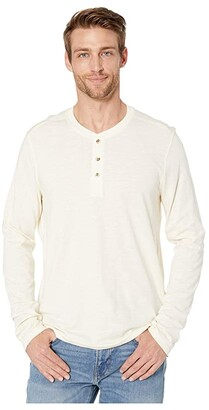Toad&Co Primo Long Sleeve Henley (Soot Vintage Wash) Men's Clothing