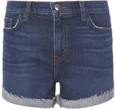 L'Agence Crystal Cove Fold-Back Shorts