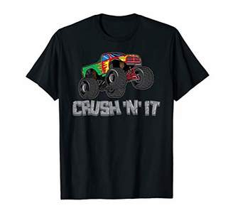 N. Monster Trucks Crush It Off Road Riding Lovers Kids Gifts T-Shirt
