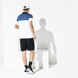 Lacoste Men's SPORT Breathable Pique Tennis Polo