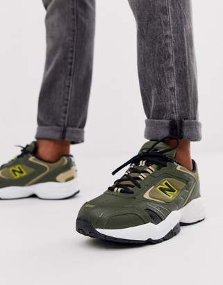 New Balance 452 trainers in green