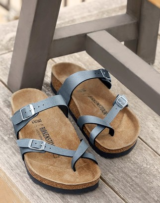 Birkenstock Mayari Metallic Sandals