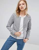 Only Striped Short Jacket