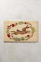 Anthropologie Bunny Hop Doormat