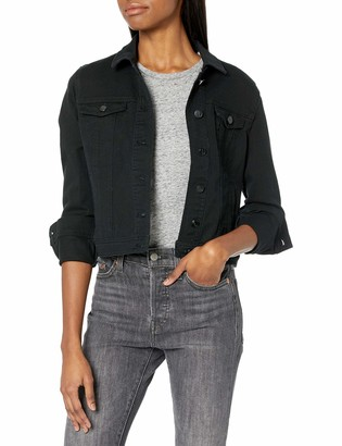 Dollhouse Women's Black Denim Jacket Large