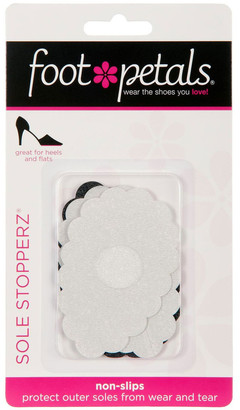 Foot Petals Sole Stopperz Black / Clear