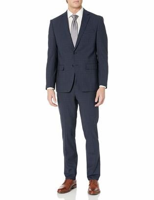 Calvin Klein Men's X Fit Slim Stretch Suit