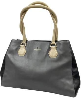 Kate Spade Grey Leather Handbags