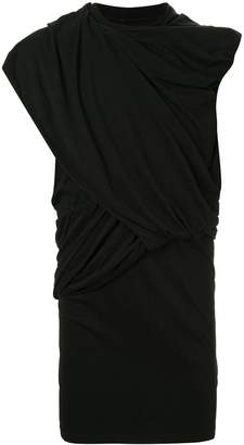 Rick Owens layered longline T-shirt