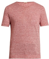 Massimo Alba Alicudi striped linen T-shirt