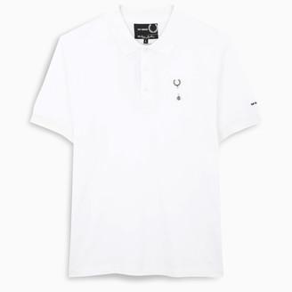 Fred Perry Raf Simons black polo shirt