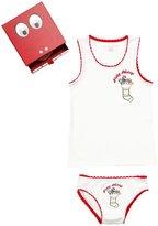 Stella McCartney Merry Holiday Set (Toddler/Kid) - White - 5 Years