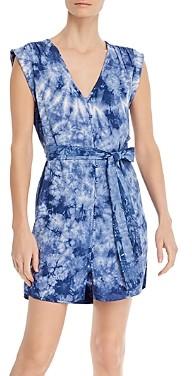 Bella Dahl Tie-Dyed Belted Shift Dress