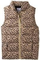 Gymboree Cheetah Puffer Vest