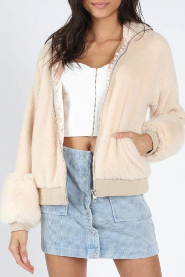 7585af37b6 Faux Fur Bomber Jacket Women - ShopStyle UK