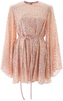 Stella McCartney Mini Dress With Lame Embroideries