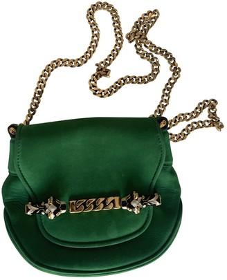 Gucci Green Suede Clutch bags