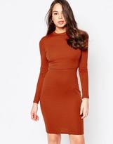 AX Paris Long sleeve Dress with Overlay