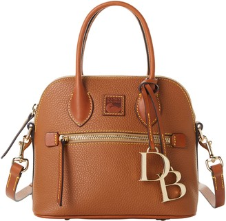 Dooney & Bourke Pebble Grain Small Domed Satchel