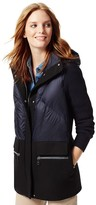 Tommy Hilfiger Final Sale-Hooded Combo Coat