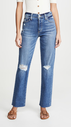 Joe's Jeans The Niki Boyfriend Jeans with Raw Hem