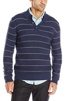 Levi's Men's Chambers Striped Three-Button Sweater