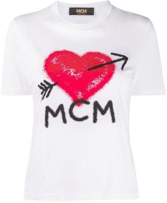 MCM Cotton Logo T-Shirt