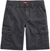 Arizona Original Fit Twill Cargo Shorts - Big Kid