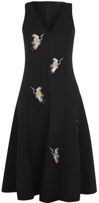 Biba Scuba Crane Dress