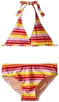 Toobydoo Multi Stripe String Bikini (Infant/Toddler/Little Kids/Big Kids)