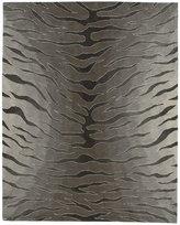 Nourison Contour CON30 Silver Rectangle Rug 7.3 x 9.3'