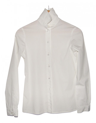 Bally White Cotton Tops