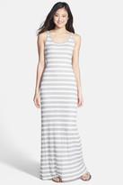 Tart Elodie Crochet Stripe Jersey Maxi Dress