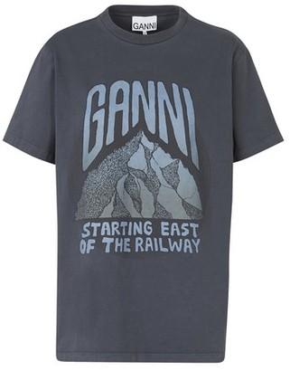 Ganni Organic cotton T-shirt