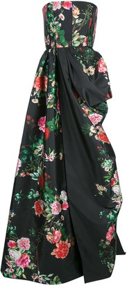 Alex Perry floral Alex gown