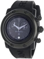 Glam Rock Women's GR62118 Miami Beach Black Dial Black Silicone Watch