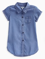 Splendid Little Girl Denim Mid Thigh Shirt