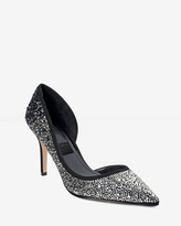 White House Black Market Ella Ombré Embellished d'Orsay Heels