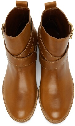 See by Chloe Tan Lyna Ankle Boots