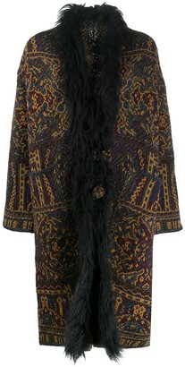 Etro Fur-Collar Cardigan