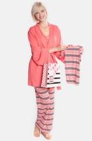 Olian Women's Four-Piece Maternity Sleepwear Gift Set