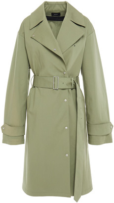 Joseph Belted Stretch-cotton Trench Coat