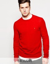 Farah Jumper In Lambswool Exclusive
