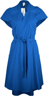 Format KIND dress blue plain - S - Blue