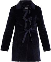 SHRIMPS Helena faux-fur coat
